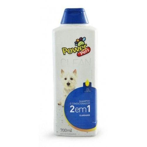 Shampoo e Condicionador Power Pets Clareador