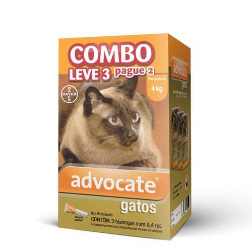 Antipulgas Advocate Gatos