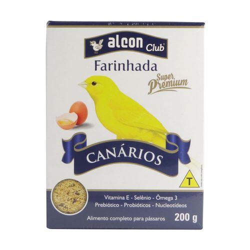 Ração Alcon Farinhada com Ovos Canário Super Premium