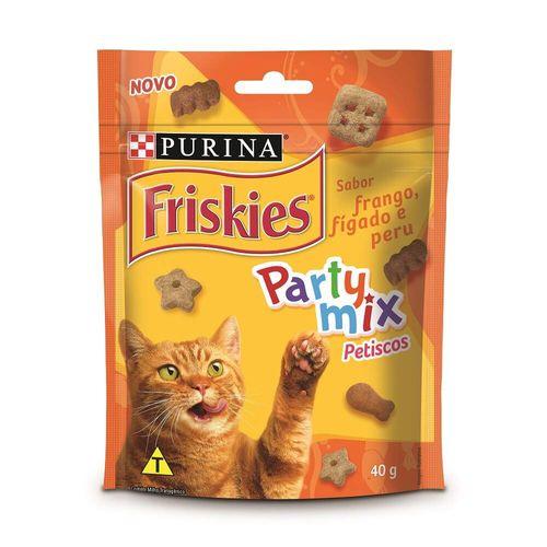 Petisco Friskies Sabor Frango para Gatos