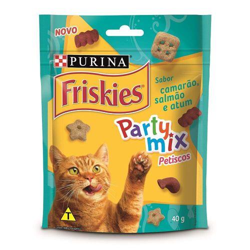 Petisco Friskies Sabor Camarão para Gatos