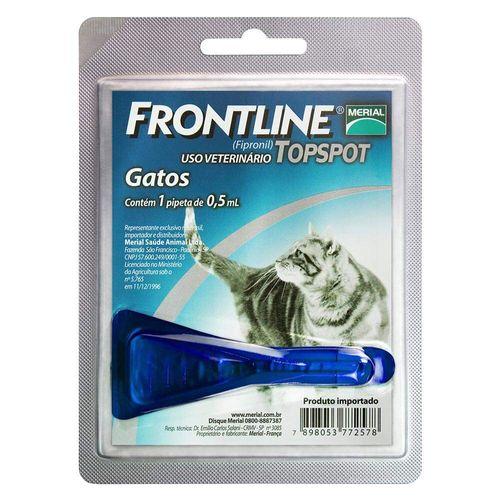 Antipulgas e Carrapatos Frontline Topspot para Gatos