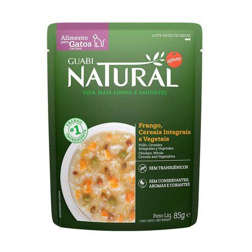Ração Úmida para Gatos Adultos Guabi Natural Frango Cereais