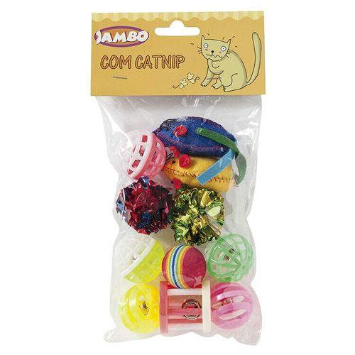Brinquedo Jambo Pet Para Gatos Diversos