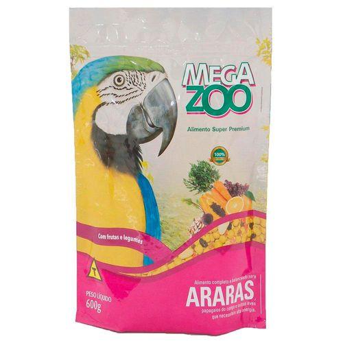 Megazoo Extrusados Araras Frutas e Legumes