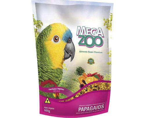Megazoo Papagaio Frutas e Legumes