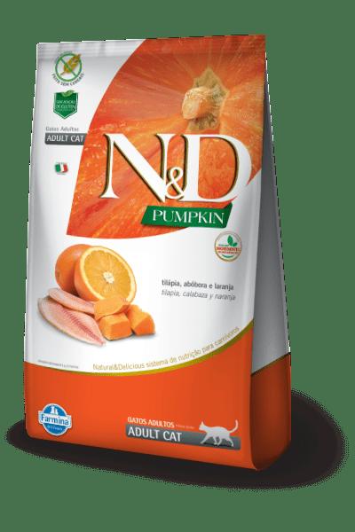 N&D Pumpkin Feline Tilapia