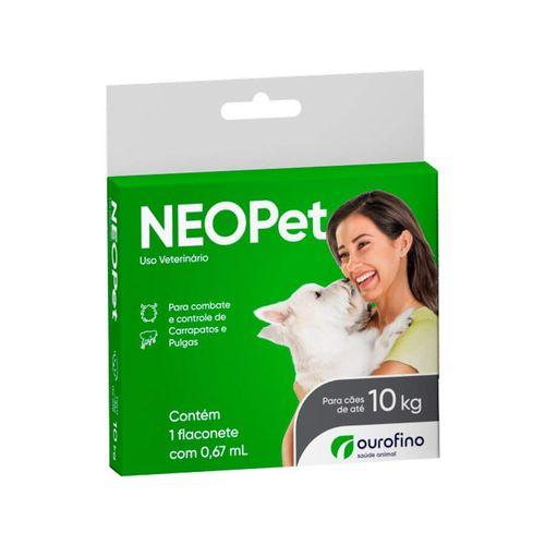 Antipulgas e Carrapatos Neopet Ourofino para Cães