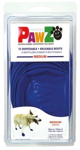 Pawz dog Botas Para Cachorro M (12Botas)
