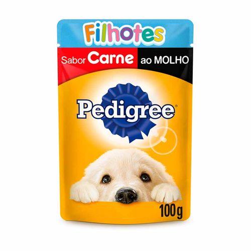 Ração Úmida Pedigree Para Cães Filhotes Sachê Sabor Carne