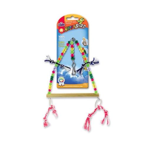 Brinquedo Triângulo Com Argolas para Calopsitas