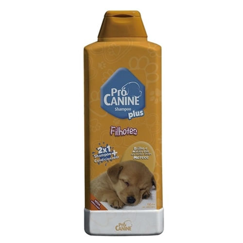 Shampoo Pró Canine Linha Plus Cães Filhotes