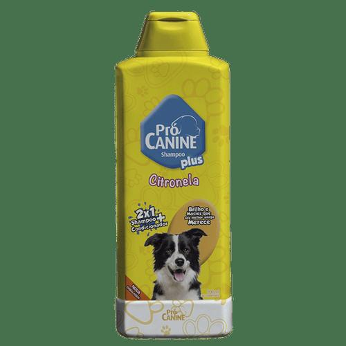 Shampoo Para Cães Plus Citronela Pro Canine