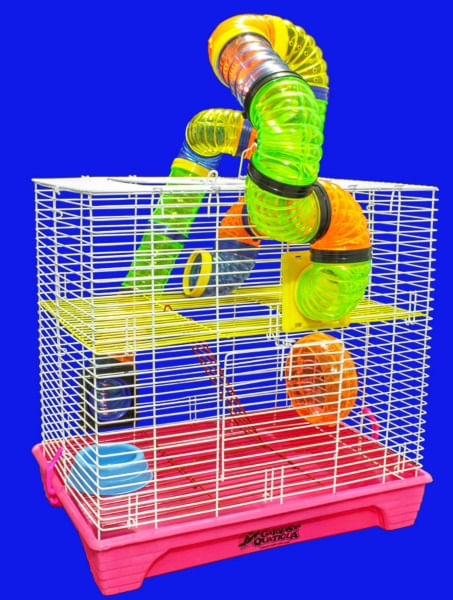 Gaiola Hamster Sol Laranja