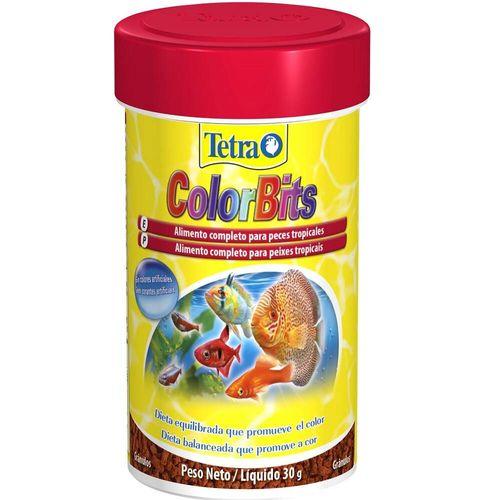 Alimento para Peixe Tetra Peixe ColorBits Granules
