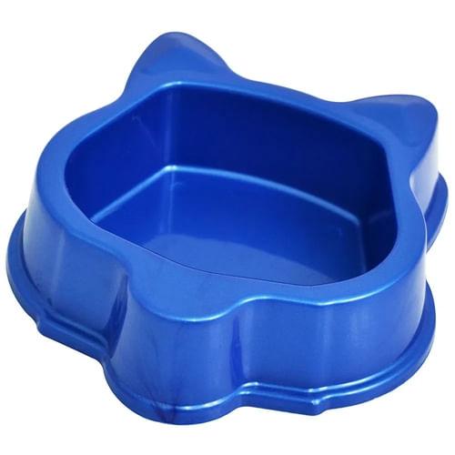 Comedouro Plástico Gatos Triton Dog