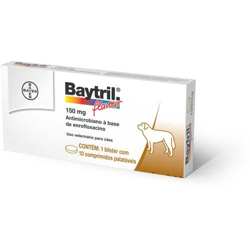 Antimicrobiano Baytril Flavour Bayer