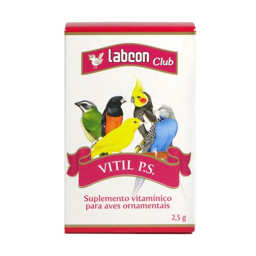 Suplemento Alcon Labcon Vitil P.S.
