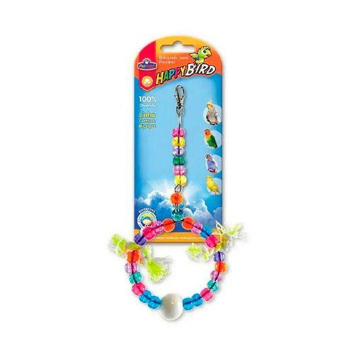 Brinquedo Happy Bird Balanço Argola Pequeno Pet Injet para Calopsitas e Psitacídeos