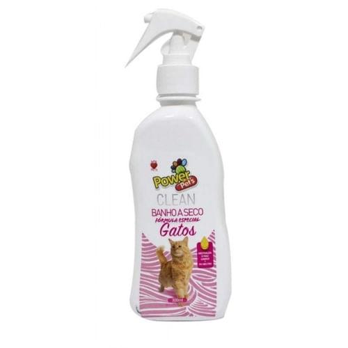 Banho Seco P/Gatos Power Pets