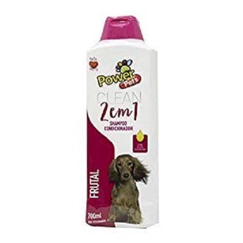 Shampoo Powerpets Frutal 700ml