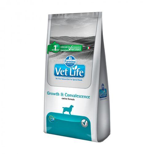 Ração Farmina Vet Life Growth e Convalescence para Cães