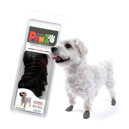 Pawz Preta Botas para Cães