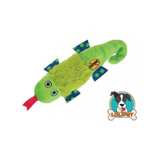 Brinquedo Petstages Petite Stuffing Free Salamandra para Cães
