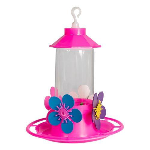 Bebedouro Beija-flor Luxo Com Poleiro