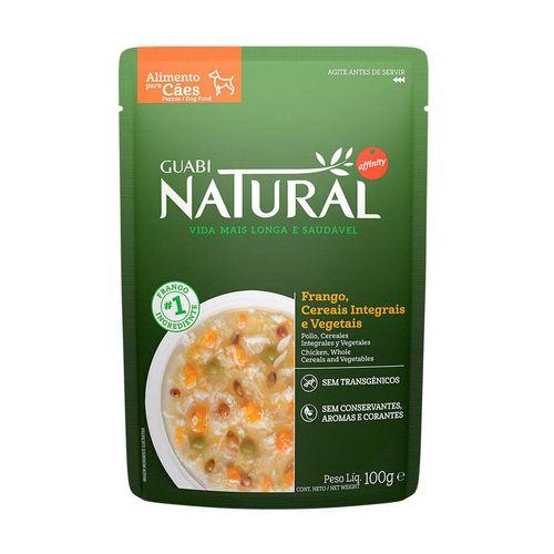 Ração Úmida para Cães Adultos Guabi Natural Frango e Cereais