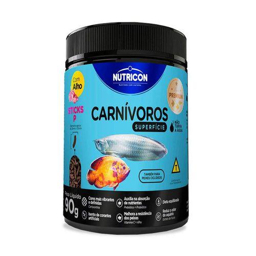 Ração Carnívoros Superfície Nutricon P para Peixes