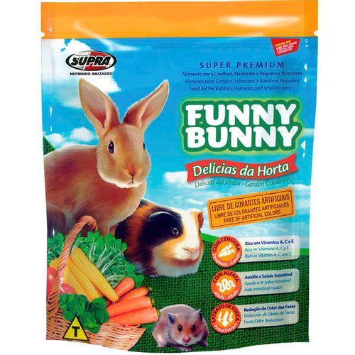 Ração Funny Bunny Delícias Da Horta Para Roedores