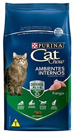 Ração Purina Cat Chow Para Gatos Ambientes Internos